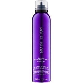 No Inhibition Styling espuma para el cabello para dar volumen y forma sin parabenos  250 ml