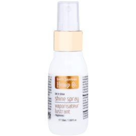 North American Hemp Co. Let it Shine olaj spray a fénylő és selymes hajért kendermag olaj citrus és gyömbér kivonattal  50 ml