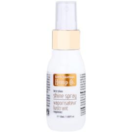 North American Hemp Co. Let it Shine olejek w sprayu do nabłyszczania i zmiękczania włosów z olejem onopny oraz z ekstraktem z cytrusów i imbirem  50 ml