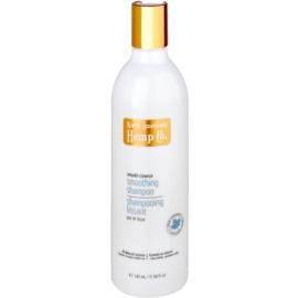 North American Hemp Co. Smooth tisztító sampon a fénylő és selymes hajért szőlőmag és gránátalma kivonattal  342 ml