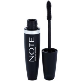 NOTE Cosmetics Deep Black prodlužující řasenka s vitamínem E odstín Black 6 ml
