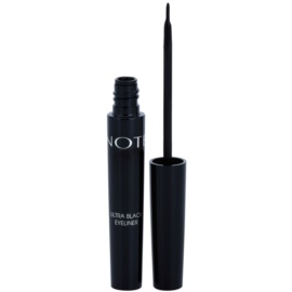 NOTE Cosmetics Eyeliner tekuté oční linky odstín Ultra Black 4,5 ml
