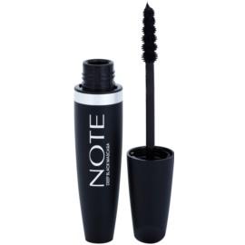 NOTE Cosmetics Long Lash řasenka pro prodloužení řas odstín Black 6 ml