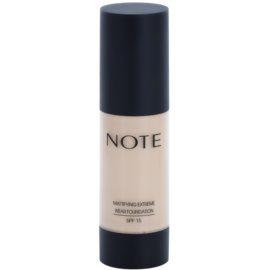 NOTE Cosmetics Mattifying Extreme matirajoči tekoči puder SPF 15 odtenek 02 Natural Beige 35 ml