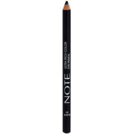 NOTE Cosmetics Ultra Rich Color tužka na oči odstín 01 Black 1,1 g