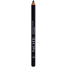 NOTE Cosmetics Ultra Rich Color kredka do oczu odcień 01 Black 1,1 g