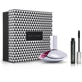 Notino Elegantes Geschenk sinnlich frischer Duft + Mascara für große, geschwungene Wimpern Eau de Parfum 100 ml + Mascara 7 ml