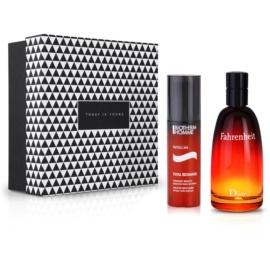 Notino Обіцянка пристрасті чуттєвий аромат для харизматичного чоловіка + енергетичний зволожуючий догляд для втомленої шкіри Туалетна вода 100 ml + крем для обличчя 50 ml