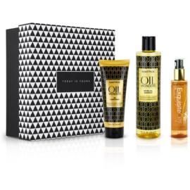 Notino Puterea uleiurilor naturale Set cadou Matrix pentru toate tipurile de păr  3 buc