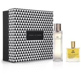 Notino Vonzódás törvénye csábító illat a modern hölgyeknek + természetes multifunkciós olaj hajra és arcra Eau de Parfum 90 ml + száraz olaj 50 ml
