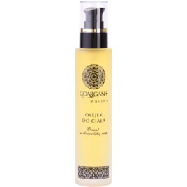 Nova Kosmetyki GoArgan+ Raspberry Körperöl zum nähren und Feuchtigkeit spenden  100 ml