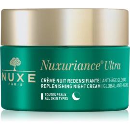 Nuxe Nuxuriance Ultra cremă hrănitoare de noapte cu efect de întinerire pentru toate tipurile de ten  50 ml