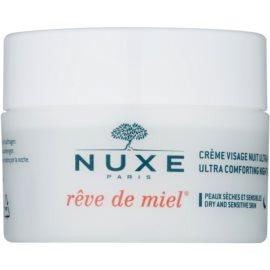 Nuxe Reve de Miel Feuchtigkeitsspendende Nachtcreme mit ernährender Wirkung für trockene Haut  50 ml