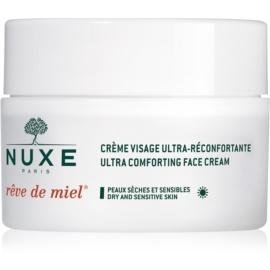 Nuxe Rêve de Miel dnevna hranilna in vlažilna krema za suho kožo  50 ml