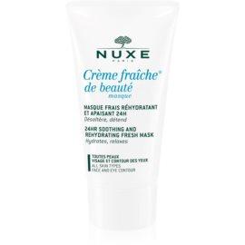 Nuxe Creme Fraîche de Beauté mascarilla hidratante y calmante para todo tipo de pieles  50 ml