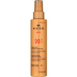 Nuxe Sun sprej na opaľovanie SPF 20  150 ml