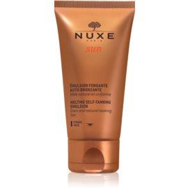 Nuxe Sun Zelfbruinende Emulsie  voor het Gezicht  50 ml