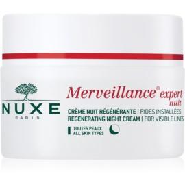 Nuxe Merveillance regeneračný nočný krém pre všetky typy pleti  50 ml