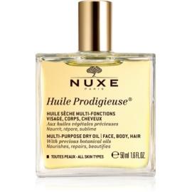 Nuxe Huile Prodigieuse πολυλειτουργικό ξηρό λάδι Για  πρόσωπο, σώμα και μαλλιά  50 μλ