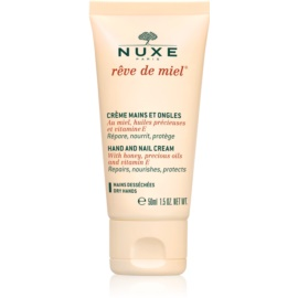 Nuxe Rêve de Miel Hand & Nail Cream For Dry Skin Honey, Precious Oils and Vitamin E  50 ml
