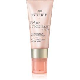 Nuxe Crème Prodigieuse Boost bálsamo en gel multicorrector para contorno de ojos  15 ml