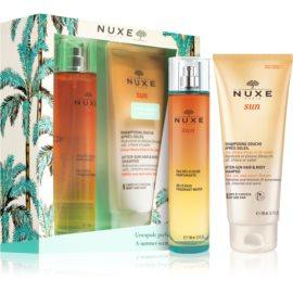 Nuxe Sun darilni set I. osvežilna voda 100 ml + šampon in gel za prhanje 200 ml