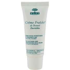 Nuxe Creme Fraîche de Beauté beruhigende und hydratisierende Creme für trockene bis sehr trockene Haut  30 ml