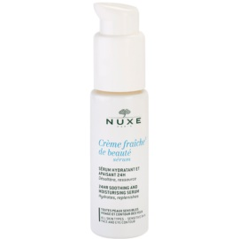 Nuxe Creme Fraîche de Beauté beruhigendes und hydratisierendes Serum für alle Hauttypen, selbst für empfindliche Haut  30 ml