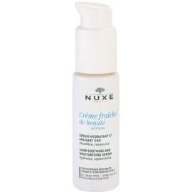 Nuxe Crème Fraîche de Beauté pomirjujoči vlažilni serum za vse tipe kože, vključno z občutljivo kožo  30 ml