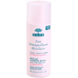 Nuxe Cleansers and Make-up Removers Mizellar-Reinigungswasser für empfindliche Haut und Augen  100 ml