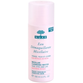 Nuxe Cleansers and Make-up Removers agua micelar limpiadora para ojos y pieles sensibles   100 ml