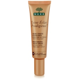Nuxe Maquillage Prodigieux tónovací hydratační krém odstín 02 Golden Radiance  30 ml