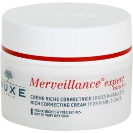 Nuxe Merveillance крем проти зморшок для сухої та дуже сухої шкіри  50 мл
