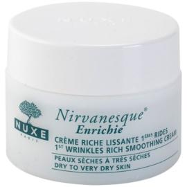 Nuxe Nirvanesque vyhlazující krém pro suchou až velmi suchou pleť  50 ml