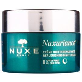 Nuxe Nuxuriance Ultra creme rejuvenescedor nutritivo de noite para todos os tipos de pele  50 ml