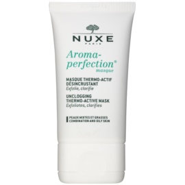 Nuxe Aroma-Perfection mascarilla limpiadora para pieles mixtas y grasas  40 ml