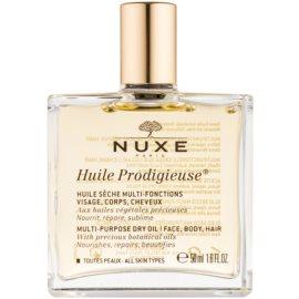 Nuxe Huile Prodigieuse multifunkční suchý olej na obličej, tělo a vlasy  50 ml