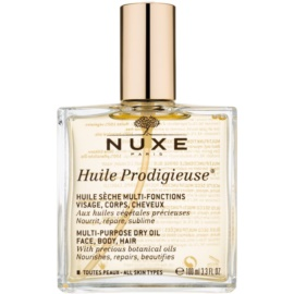Nuxe Huile Prodigieuse multifunkční suchý olej na obličej, tělo a vlasy  100 ml