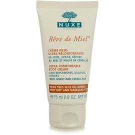 Nuxe Rêve de Miel crema de pies para pieles muy secas  75 ml