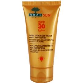 Nuxe Sun opalovací krém na obličej SPF 30  50 ml