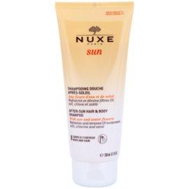 Nuxe Sun šampon po opalování na tělo a vlasy  200 ml
