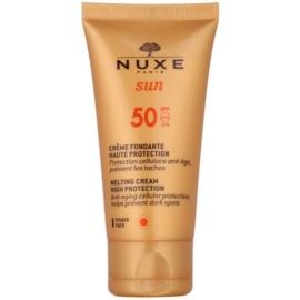 Nuxe Sun opalovací krém na obličej SPF 50  50 ml