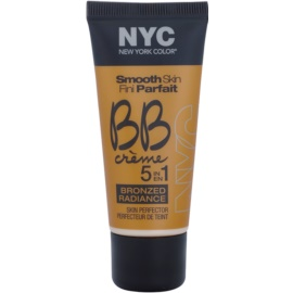NYC Smooth Skin Bronzed Radiance bronzující BB krém odstín 05 Medium 30 ml