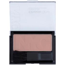 NYC Cheek Glow blush com pincel tom 651 Riverside Rose 8,1 g