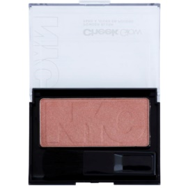 NYC Cheek Glow blush com pincel tom 701 Staten Island Sand 8,1 g