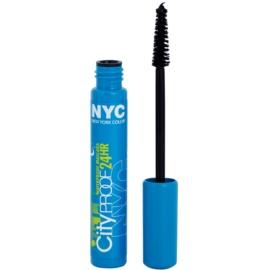 NYC City Proof 24H vízálló szempillaspirál árnyalat 856 Black 8 ml