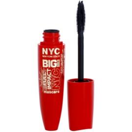 NYC Big Bold Full Impact řasenka pro maximální objem odstín 001 Extra Black 12 ml