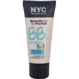 NYC Smooth Skin Instant Matte mattierende BB Creme Farbton 02 Medium 30 ml