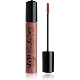 NYX Professional Makeup Liquid Suede™ Cream tekoča vodoodporna šminka z mat učinkom odtenek 21 Brooklyn Thorn 4 ml