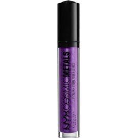 NYX Professional Makeup Cosmic Metals™ metalická tekutá rtěnka odstín 10 Ultraviolet 4 ml